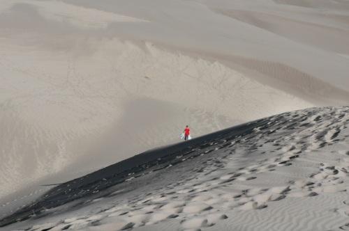"""Explorations,"" Great Dunes National Park, Colorado"