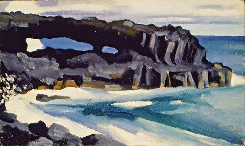 George_O'Keeffe_Maui_Painting