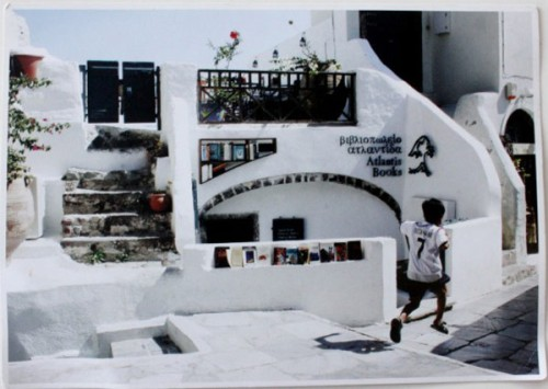Atlantis Bookstore Santorini Greece