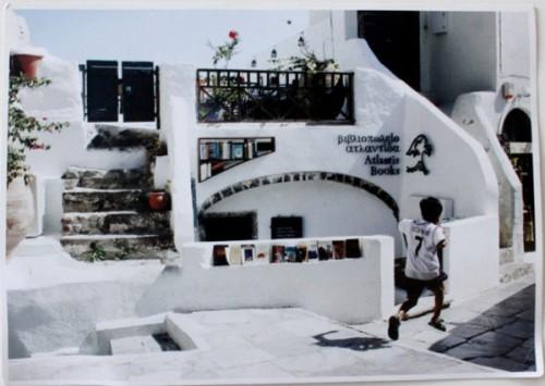 Atlantis Bookstore Santorini Greece