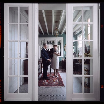 rene-and-georgette-magritte-with-their-dog-after-the-war